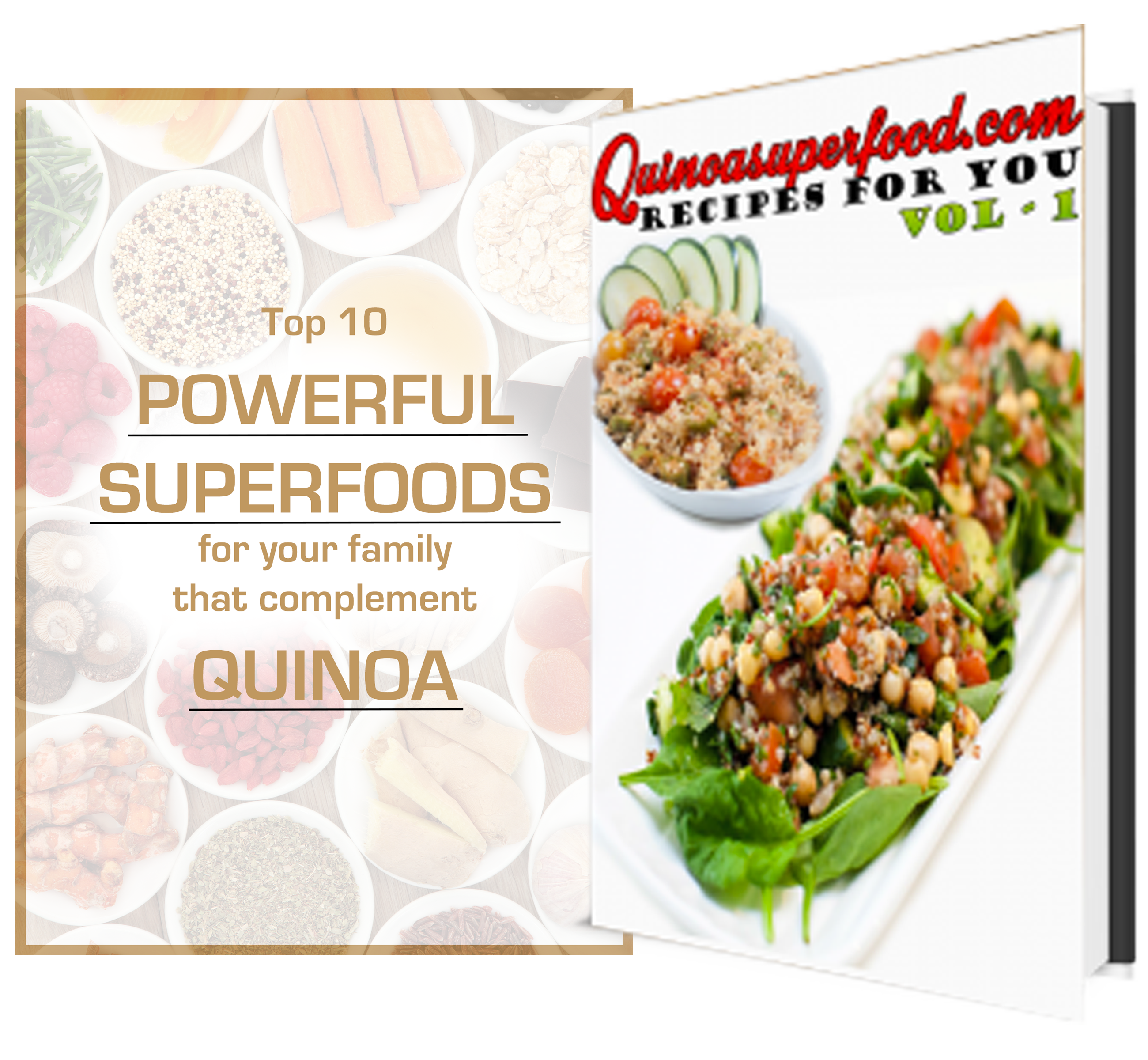 Quinoasuperfood.com - Recipes for You - Vol.1